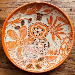 Sgraffito Platter Workshop: 10/18, 10-4pm