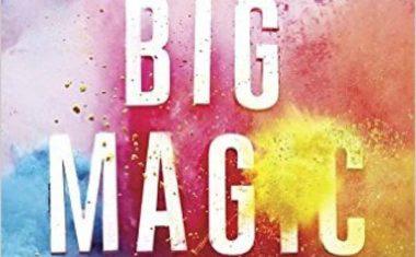 "The ""magic"" of living a creative life…"